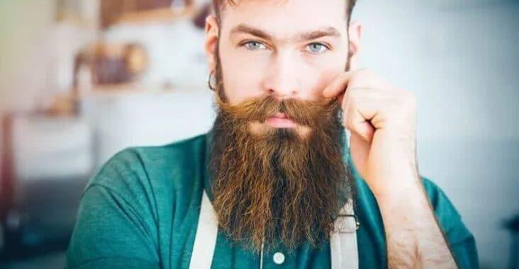 barbe bien entretenue